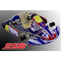 MS KART BLUE SWIFT / 4T with front brakes - left hand drive (D 32 mm)