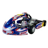 MS KART MINI BLUE KITE / with ROTAX 125 Micro MAX EVO MY20 engine, complete