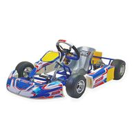 MS KART BABY 50 with COMER 50 ccm engine, complete - mechanic brake caliper