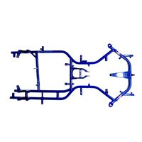 Frame MS BLUE PHOENIX (D 30 mm tubing) - for 4T - left hand drive