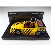 Toy car - yellow