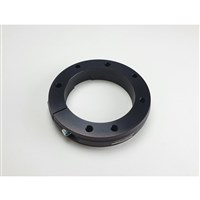 Rear axle bearing holder D  40+50/80 - AL, eloxal coated (for bearing external D 80 mm) - rotondo