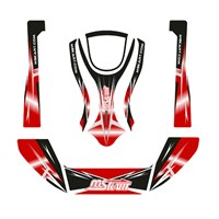 Stickers on bodywork - set · RED CONDOR